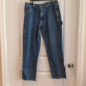 Men's Lee Dungaree's Carpenter Jeans Size 33x30
